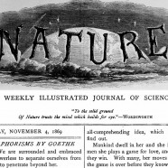 &#8216;Nature&#8217; &#038; Scientific Community, 1869-1939