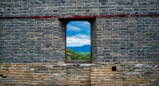 A_close-up_view_of_the_Great_Wall_of_China