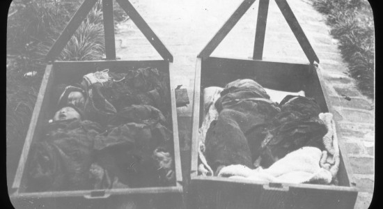 Chinese_babies_lying_in_wooden_cradles,_China,_ca._1918-1938_(MFB-LS0001)