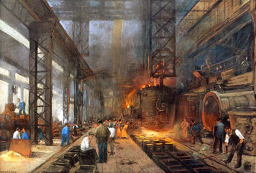 an analysis of the costs and benefits of the industrial revolution in the 1800s