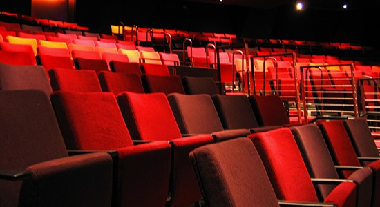Image: Noble, Jeremy. The seats in the Thrust theatre at the new Guthrie. Flickr. Image used under creative commons licensing.