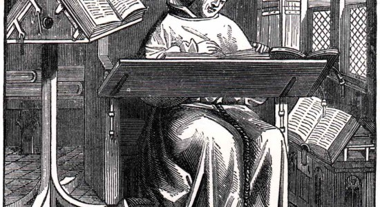 Scriptorium-monk-at-work