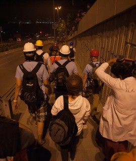 Medical volunteers heading to the conflict zone. Events of June 7, 2013.